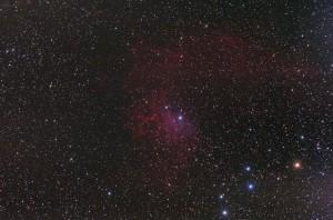 Lángoló-csillag köd, IC 405