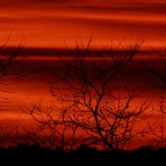 Debrecen, naplemente vihar előtt